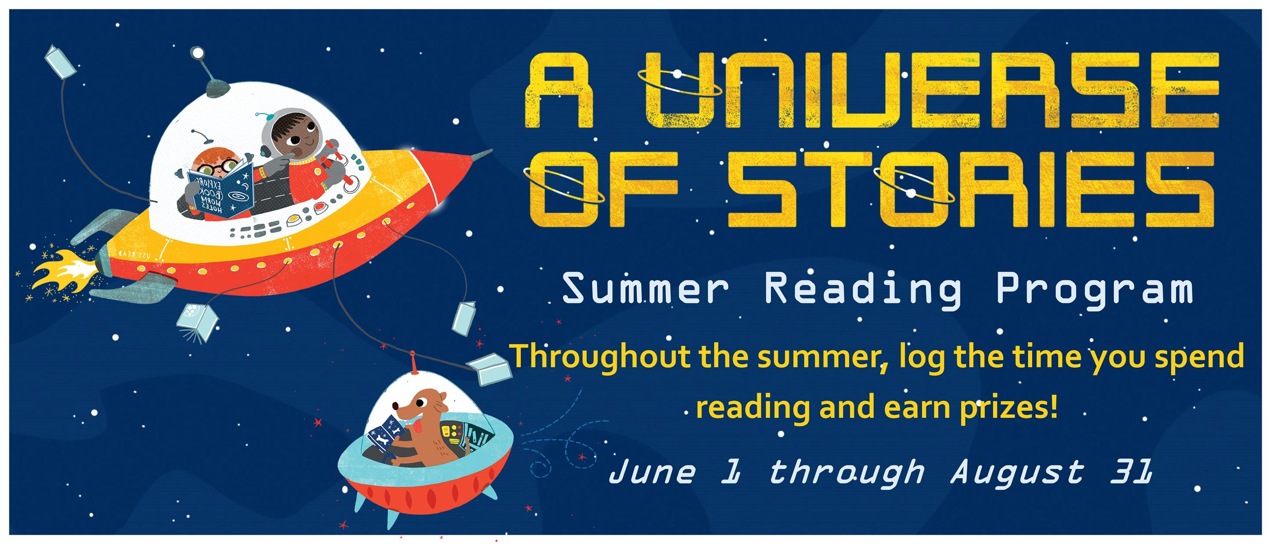 2019 Summer Reading - A Universe of Stories